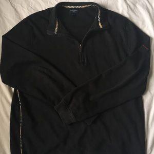 Pre-Owned Mens Burberry Golf half zip jacket